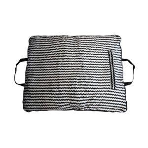 Coussin sac L - noir