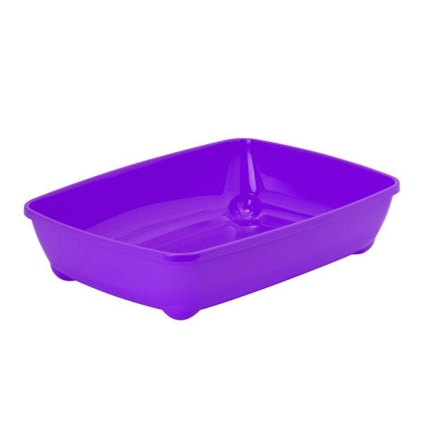 Bac à litière basic - violet