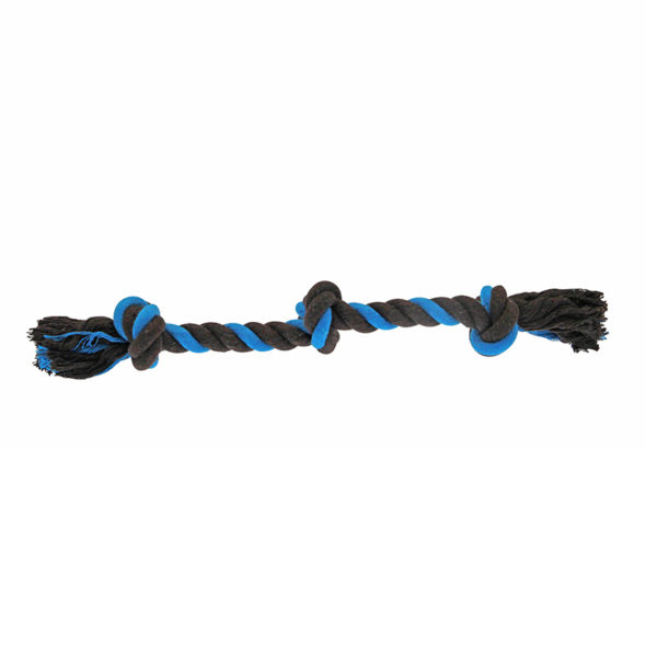 Corde trois nœuds - bleu
