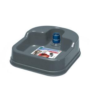 Distributeur d'eau antidérapant - gris