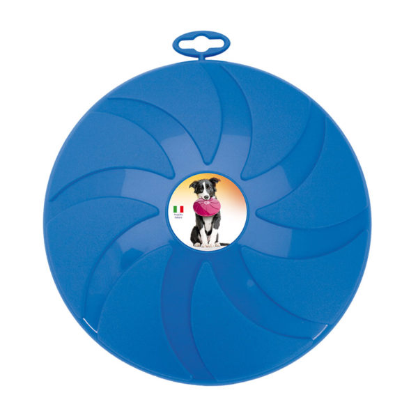Frisbee pour chien - bleu