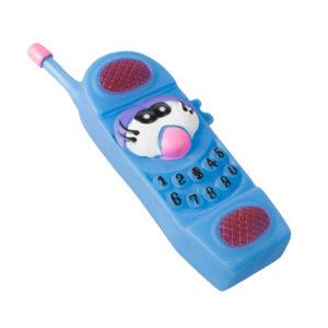 Jouet téléphone pour chien - bleu