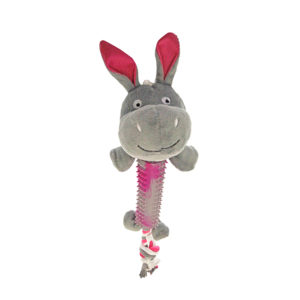 Peluche hippopotame long corps