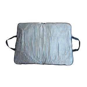 Coussin sac M - bleu