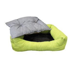 Panier pour chien avec coussin amovible