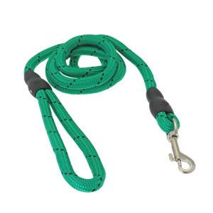 Laisse corde - vert