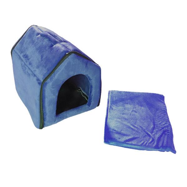 Maison dôme - bleu marine