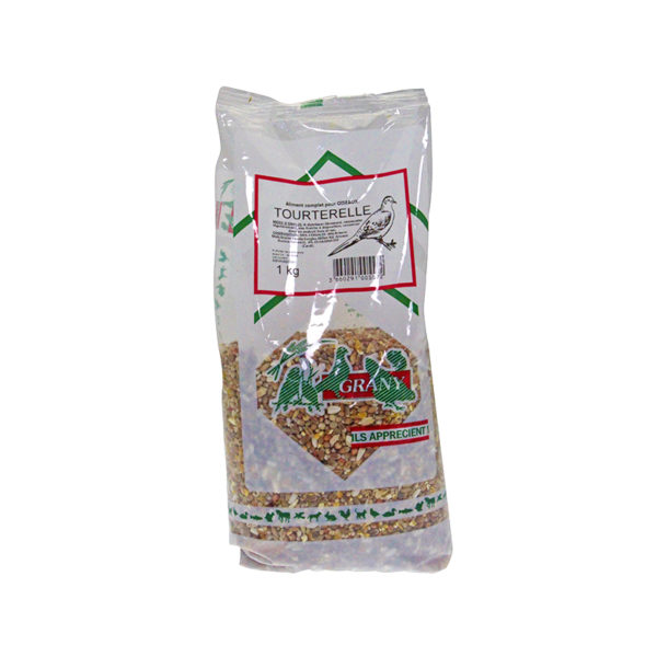 Aliment pour tourterelle faisan