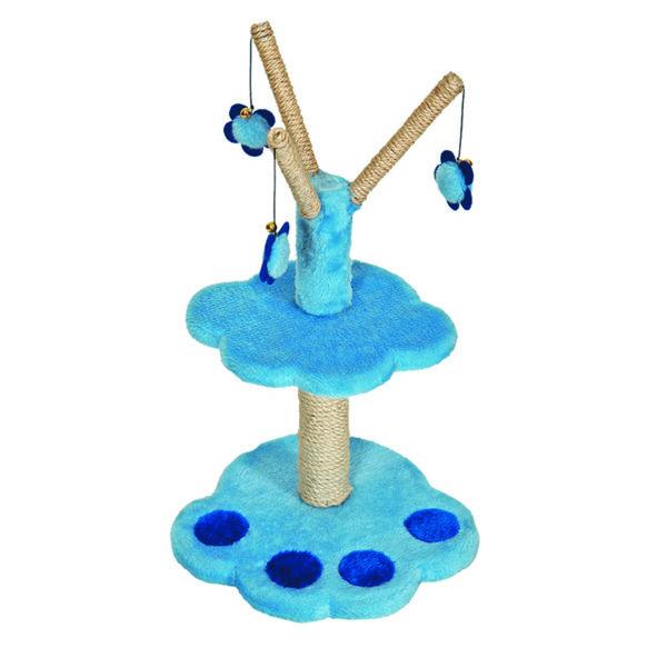 Arbre à chat patte - bleu