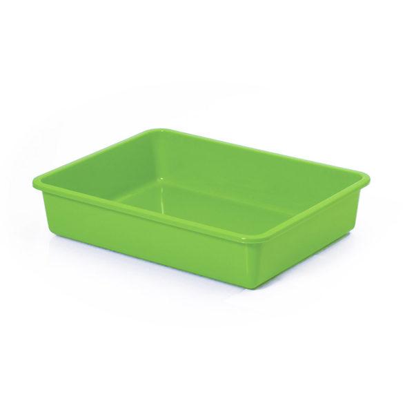 Bac à litière sans rebord - vert pomme