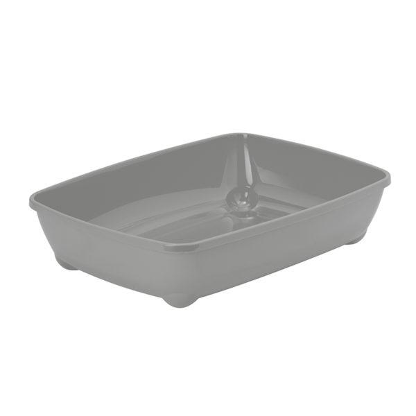 Bac à litière basic - gris clair