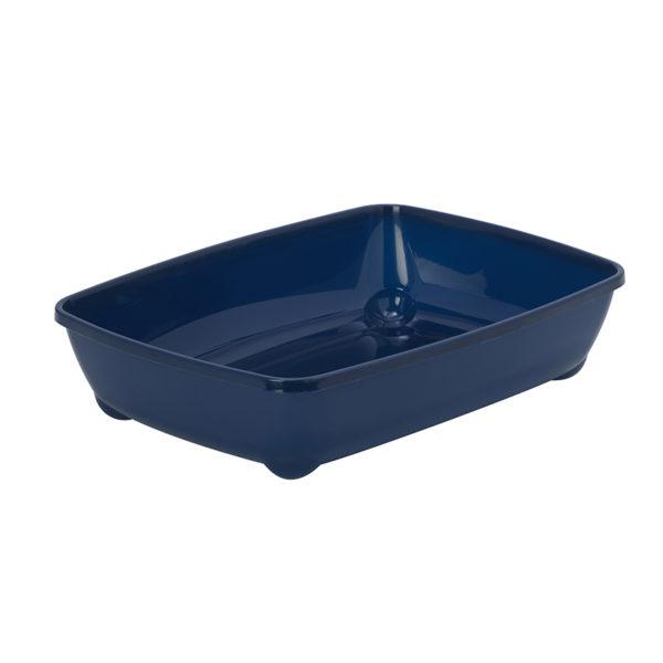 Bac à litière basic - bleu nuit