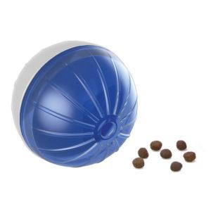 Balle distributrice de nourriture - bleu