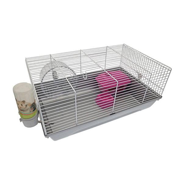 Cage hamster - rose