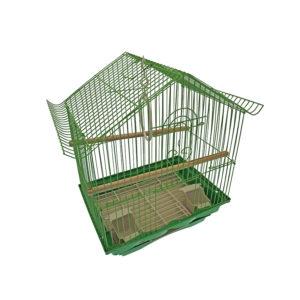 Cage oiseaux - vert