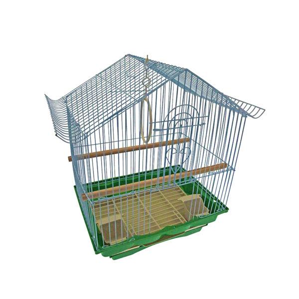Cage oiseaux - blanc