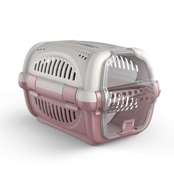 Cage transport version luxe - rose