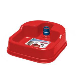 Distributeur d'eau antidérapant - rouge
