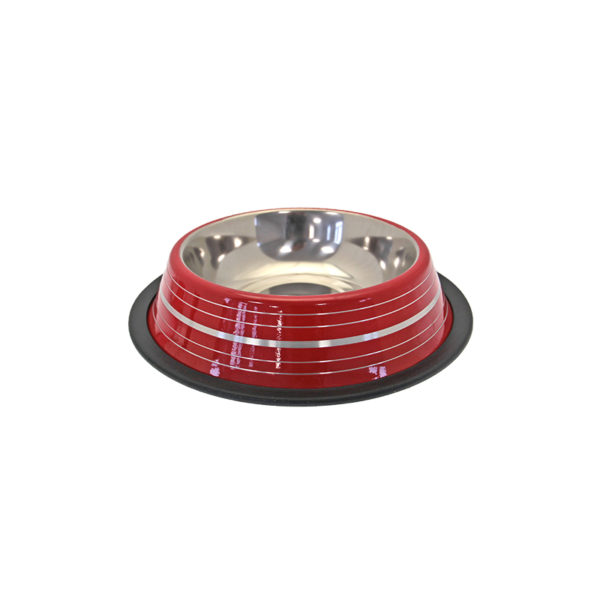 Ecuelle colorée inox - rouge
