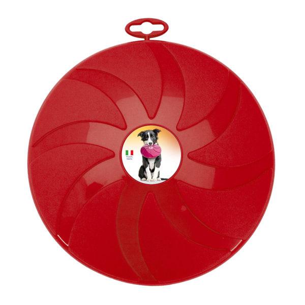 Frisbee pour chien - rouge
