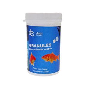 Granulés pour poisson rouge