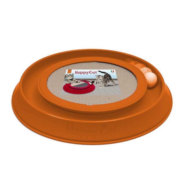 Griffoir rond interactif - orange