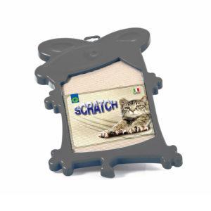 Griffoir en carton ondulé - gris