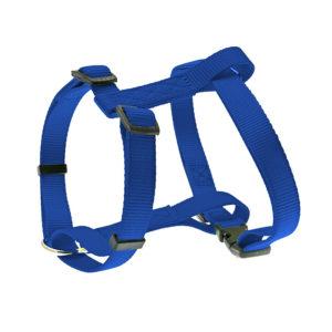 Harnais nylon uni - bleu marine
