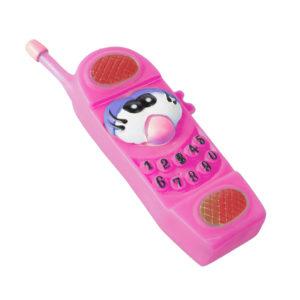 Jouet téléphone pour chien - rose