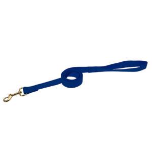 Laisse en nylon - bleu marine