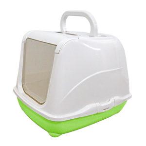 Maison toilette avec filtre et pelle - vert pomme
