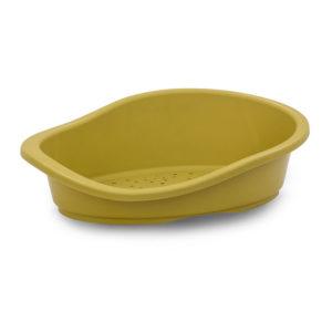 Panier plastique - moutarde