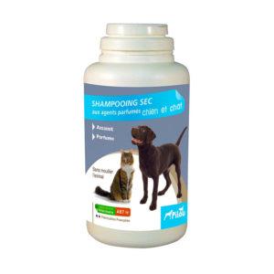 Shampooing sec pour chien et chat