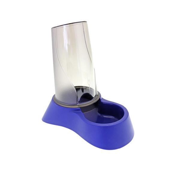 Distributeur eau et croquettes 1,5L - bleu nuit