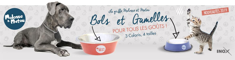 Gamelles et Bols - Molosse et Matou