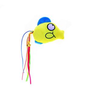 Peluche poisson avec clochette