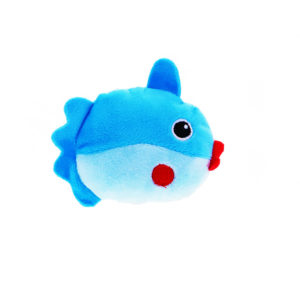 Peluche poisson - bleu