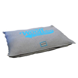 Coussin jersey gris