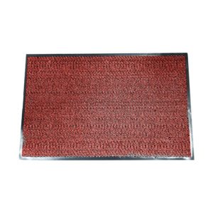 Tapis anti-salissure rouge