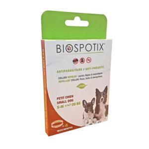 Collier anti-parasitaire pour chien inférieur à 20kg
