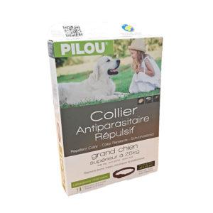 Collier anti-parasitaire pour chien supérieur a 25kg