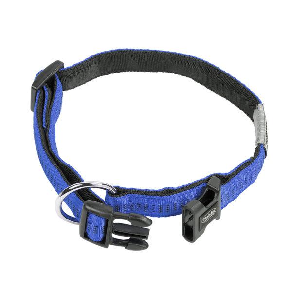 Collier en nylon - bleu