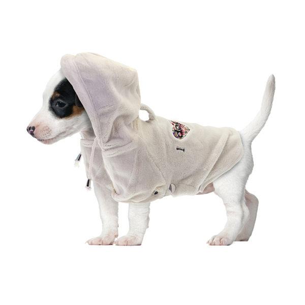 Manteau Nobby Moumoute blanc
