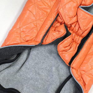 Manteau Nobby Matelassé orange